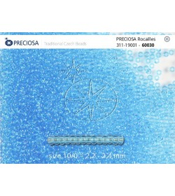 60030 Albastru Transparent
