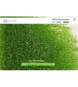 50430 Verde Transparent 11/0