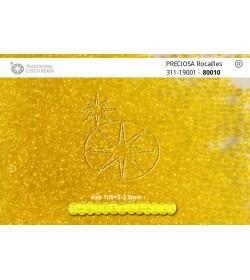 80010 Galben Transparent 11/0
