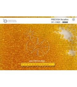 80060 Orange Transparent 11/0