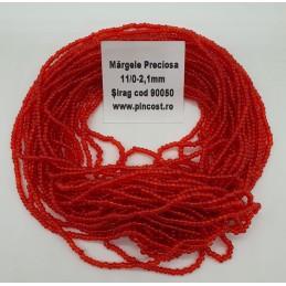 90050 Rosu Transparent (Șirag)