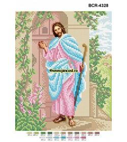 Goblen A4 Iisus bate la ușă