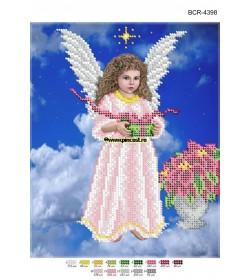 Goblen A4  Înger de Crăciun