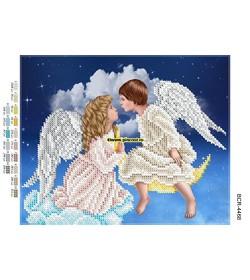 Goblen A4 Sărutul îngerilor